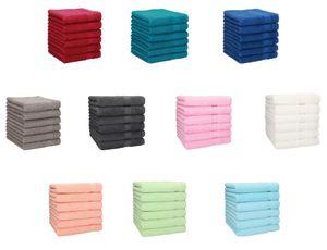 Betz 12er Handtuch-Set PALERMO 100% Baumwolle,  Farbe - türkis