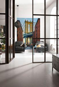 "Komar Vlies Fototapete ""Brooklyn"", bunt, 184 x 248 cm"