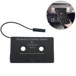 Bluetooth Kabellos Auto Kasettenadapter Kassette Adapter USB Freisprechanlage Audiokassette für Aux Adapter