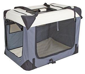 Transportbox Journey, 91x63,5x63,5cm, grau/beige