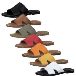 Tamaris 1-27135-24 Damen Schuhe Pantolette Clogs Leder, Größe:39 EU, Farbe:Orange