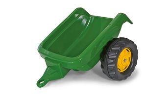 rolly toys Kid Trailer einachsiger Anhänger, grün/gelb, Maße: 57x46,5x26,5 cm; 12 174 8