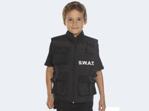 Boland getarnte Swat kugelsichere Weste  junior schwarz Kostüme