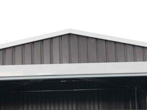 """Garage Metall """"Nevada"""" mit Rolltor - 15,61m²"""