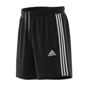 adidas Short Herren mit Taschen im 3 Streifen Design, Größe:L, Farbe:Schwarz