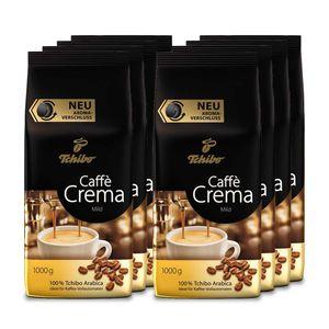 Tchibo Caffè Crema Mild ganze Bohne, 8 kg (8 x 1kg)