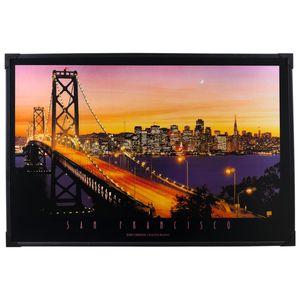 Heitronic San Francisco Länge 91 cm bunt 1-flammig rechteckig