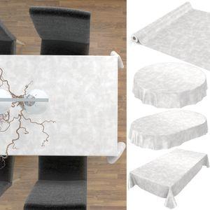 Tischdecke abwaschbar Wachstuch Beton-Optik Grau Oval 140x180 cm