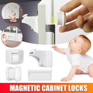 Meco 30x Kindersicherung Schubladensicherung Schrankschloss Baby Schutz Magnetschloss