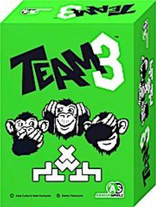 Team3 - grün, Brettspiel (DE), für 3 bis 6 Spieler, ab 8 Jahren