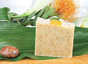 Naturseife Honigwabe 100g, Handseife natürlich basische Seife