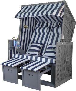 normani Premium Strandkorb 2-Sitzer