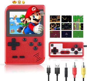 Handheld Spielekonsole Retro Mini Game Player Gameboy mit 400 klassischen FC Spielen 2.8 Zoll LCD Retro Spielkonsole Videospiel Konsole
