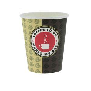 ecolle Premium Coffee TO GO Pappbecher 200ml, 500 Stk.