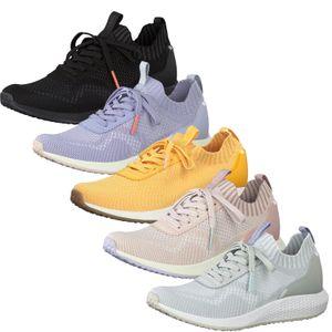 Tamaris 1-23714-24 Damen Schuhe Schnürschuhe Halbschuhe, Größe:38 EU, Farbe:Gelb