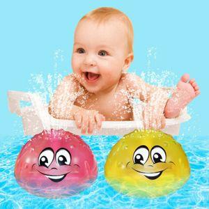 2x Kinder elektrische Induktionssprinklerlampe Baby Wasserspielzeug Kinder Badespielzeug
