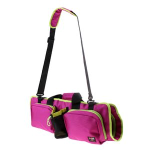 Yogatasche Yogamattentasche für Yogamatte, Fitnessmatte, Gymnastikmatte - Wasserdicht Yoga Sporttasche Tragetasche Schultertasche mit Seitentasche für Handy Geldbörse Yogastudio Kleidung Farbe Lila