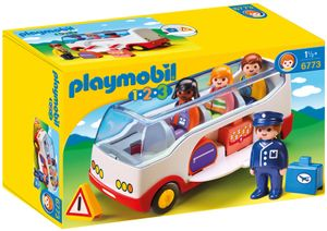 PLAYMOBIL 1.2.3. 6773 Reisebus
