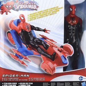 Spider-Man Action Figur mit Spider-Race