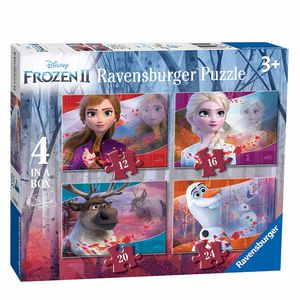 Ravensburger 4in1 Puzzel Disney Frozen 2 12-16-20-24 Stukjes.