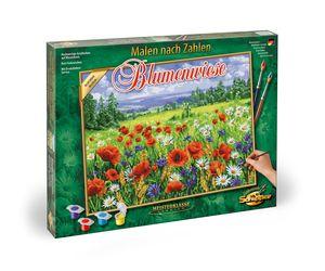 Schipper 609130824 Blumenwiese 40x50cm Malen nach Zahlen