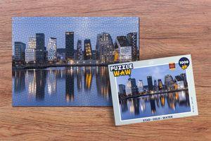 Puzzle 1000 Teile - Stadt - Oslo - Wasser
