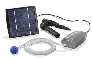 Esotec 101870 Solar Teichbelüfter mit Solarmodul und Pumpe, (L x B x H): 120 x 65 x 42 mm, Gewicht 180 g