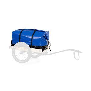 Klarfit Companion Travel Bag Transporttasche  ,  Zubehör  ,  Volumen: 120 Liter  ,  wasserdicht  ,  Roll-Top  ,  Tragegriff  ,  Befestigungsklettbänder  ,  schwarz / blau
