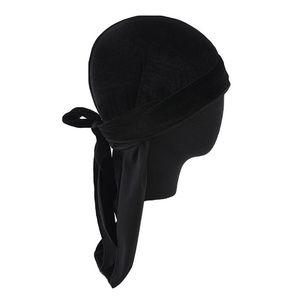 Kopfbedeckung Muslim Turban Chemo Krebs Cap Kopftuch Schlafmütze Nachthaube Farbe Schwarz