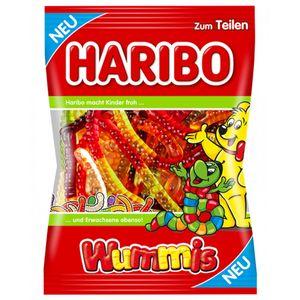 Haribo Wummis Fruchtgummi bunte Würmer fruchtig süss lecker 175g