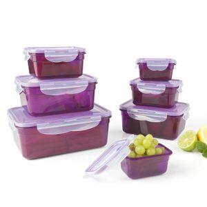 maxxworld Frischhaltedosen Klick-it 14tl Plastik Brotdose Lunchbox Aufbewahrung Mikrowelle