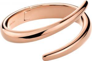 Calvin Klein Jewelry Embrace KJ2KPD1001 Damenarmreif Massiv gearbeitet, Armreifgröße:XS (54x43mm/194mm)