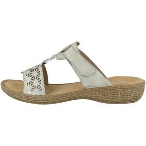 rieker Damen Sandale Grau Schuhe, Größe:40