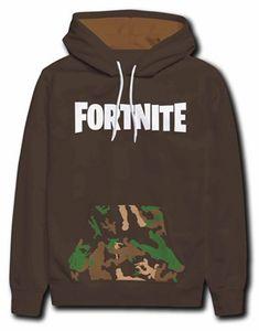 Fortnite Hoodie braun Größe 152