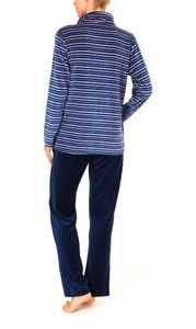 Damen Hausanzug  Homewear Nicky Velvet - 57675, Größe:40/42, Farbe:altrose