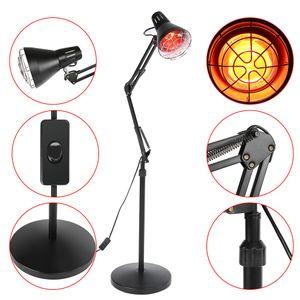 275W Infrarotlampe Rotlichtlampe Wärmelampe Infrarot-Wärmestrahler Infrarotlichttpie