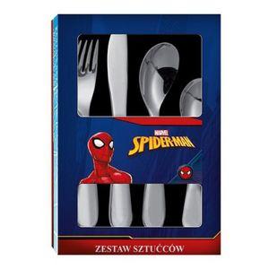 Kinderbesteck Spiderman - Metallbesteck 4Teilig