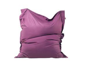 Sitzsack Violett Lila 140 x 180 cm Indoor Outdoor Stark wasserabweisender Langfristige Volumenstabilität Leicht Gewicht