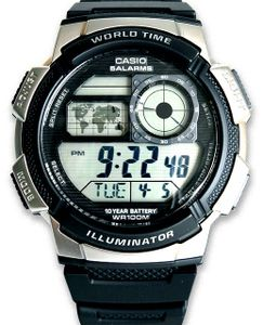 Casio AE-1000W-1A2VEF Herren-Armbanduhr digital