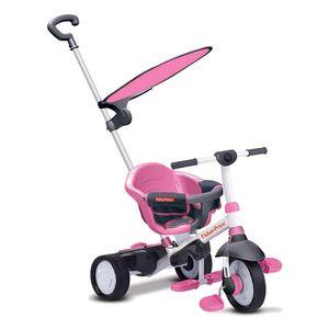 Charm Plus Dreirad mit Schubstange und Sonnenschutz, verschiedene Farben