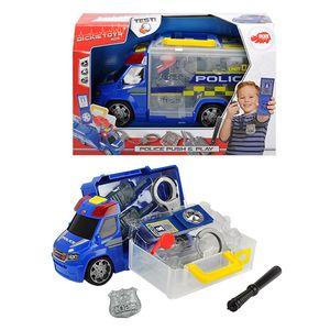 Dickie Toys - Spielfahrzeuge, Police Squad Push & Play; 203716005