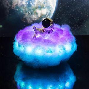 LED bunte Wolke Astronautenlicht Astronauten Nachtlicht Kinder Nachtlicht Kinder kreative Geburtstagsgeschenk