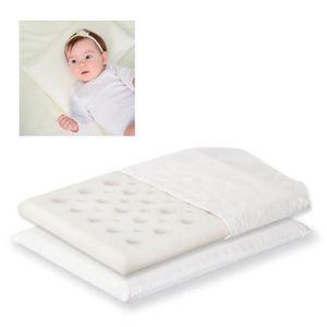 Lorelli Babykissen Air Comfort, Größe 44 x 31 x 2 cm, ab Geburt, Bezug abnehmbar weiß