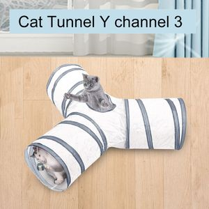 Pet Cat Play Tunnel Lustige Katze Long Tunnel Play Toy