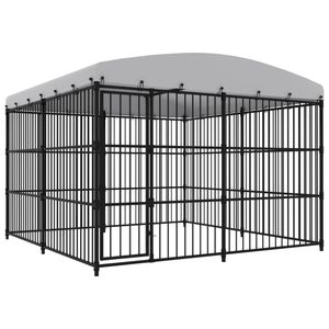 Möbel Outdoor-Hundezwinger mit Überdachung 300x300x210 cm Größe:300 x 300 x 210 cm Tier & Haustierbedarf,Haustierbedarf,Hundebedarf,Hundezwinger & -ausläufe🐰9814