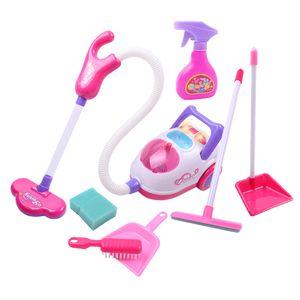 Kinder Spielzeug Staubsauger mit Zubehör Haushaltsgeräte Spielzeug Kinderstaubsauger Rollenspiele