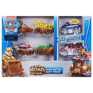 Paw Patrol 6-tlg. Spielzeugauto-Set True Metal