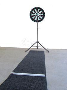Winmau PRO Steel Dartboard Komplett-Set Dart Board Matte Oche Ständer