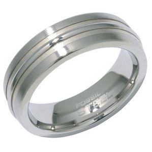 Fossil JF81016 Damen Ring JF 81016 Stahl Größe 53 (17,0)