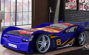 Vipack Autobett Night Racer, Blau